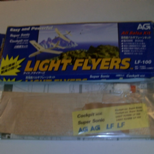 Light Flyers all Balsa kit super sonic cockpit mini planes to build